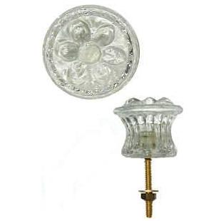 Small Empire Style Glass Knob