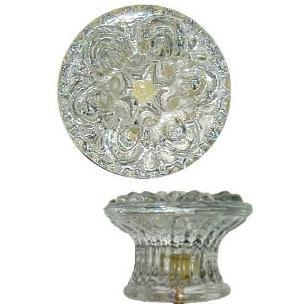 Large Empire Style Glass Knob
