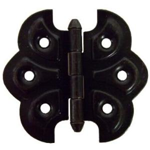 Oil Rubbed Bronze Plated Butterfly Hinge Pair