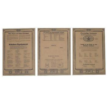McDougall Door Chart Set