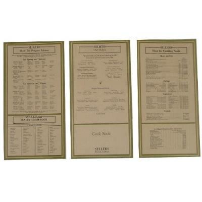Sellers Door Chart Set