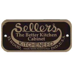 Sellers Cabinet Label - Elwood, IN