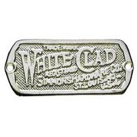 White Clad Nickel Ice Box Label