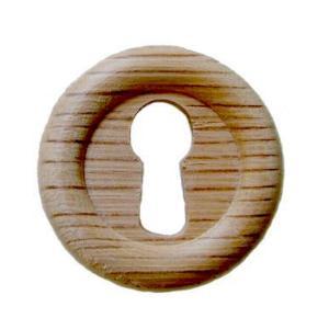 Small Oak KeyHole Cover