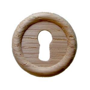 Large Oak Keyhole Cover