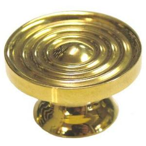 Machined Brass Knob