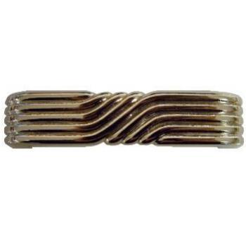 Art Deco Nickel Drawer Pull