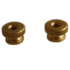 Knurled Brass Nut