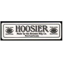 Laminate Hoosier Saves Steps Label