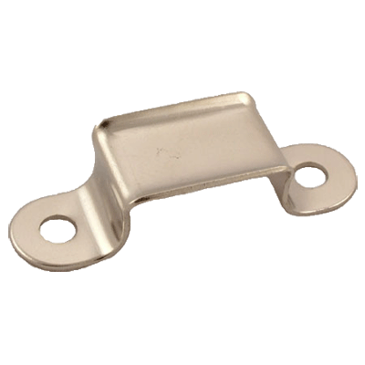 Nickel Rectangle Trunk Handle Loop