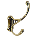 Brass Hall Tree Coat Hook