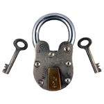 Reproduction Atlas Pad Lock