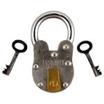 Reproduction US Mint Pad Lock