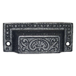 Rectangular Cast Iron Furniture & Cabinet Bin Pull
