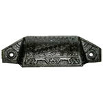Eastlake Cast Iron Furniture & Cabinet Bin Pull