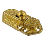 Fancy Cast Brass Cabinet or Cupboard Latch