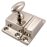 Classic Nickel Cabinet or Cupboard Latch