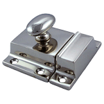 Large Classic Nickel Cabinet Latch