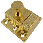 Fancy Brass Cabinet or Cupboard Latch