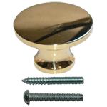 Minature Brass Knob