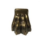 Medium Four Toe Antique Brass Claw Foot