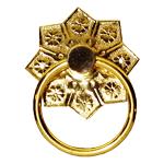 Cast Brass Ring Pull