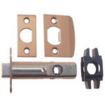 Brushed Nickel Passage Door Latch Set
