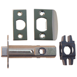 Nickel Passage Door Latch Set