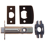 Oil Rubbed Bronze Passage Door Latch Set