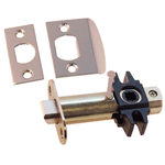 Nickel Privacy Door Latch Set