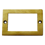 Plain Brass File Card Frame