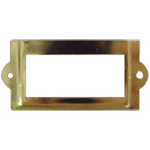 Small Brass File Card Frame