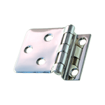 Sellers Offset Cabinet Hinge in Nickel