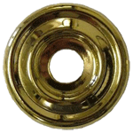 Plain Backplate Brass Washer