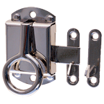 Nickel Left Wilson Cabinet Ring Latch