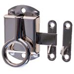 Nickel Left Wilson Cabinet Ring Latch