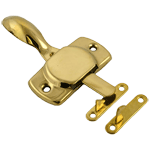 Plain Hoosier Style Brass Latch