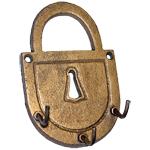 Padlock Key Rack