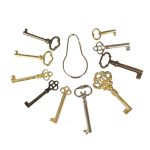 Antique Skeleton Key Set