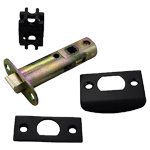 Standard Tubular Passage & Privacy Latches in Oil Rubbed Bronze