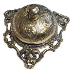 Elagant Victorian Brass Counter or Desk Bell