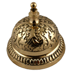 Victorian Brass Counter or Desk Bell