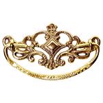 Victorian Cast Brass Drawer Pull