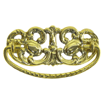 Victorian Brass Drawer Pull