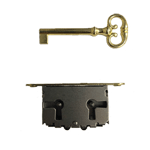 Left or Right Full Mortise Cabinet and Door Lock with Plate