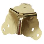 Brass Plated Steamer Trunk Corner