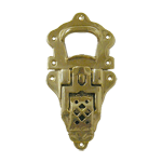 Extra Large Cast Brass Drawbolt