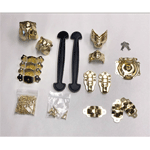 Brass Woodsmith Trunk Hardware Kit