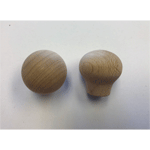 "Arts and Crafts ""Balloon"" Hardwood Knob"