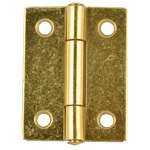 Brass Butt Hinge Pair